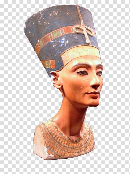 Nefertiti Bust Ancient Egypt Egyptian Museum of Berlin KV62.