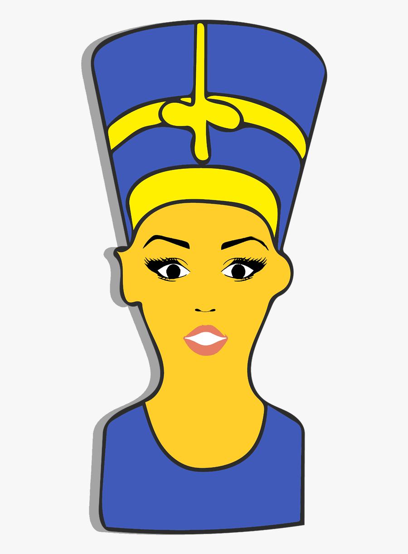 Nefertiti Emoji Clipart Free Picture.