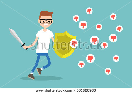 Negative Networking Stock Images, Royalty.