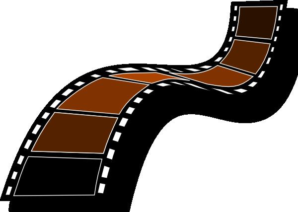 Sepia Film Strip Clip Art at Clker.com.