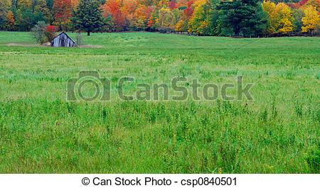 Stock Photography of Wooden Shed.