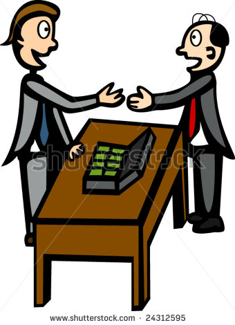 Negotiation Clipart.