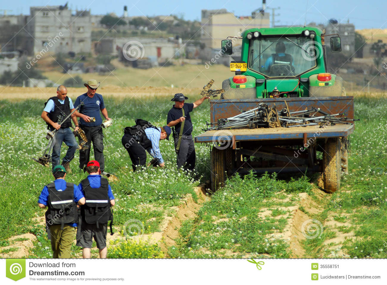 Agriculture In The Negev Desert Israel Editorial Photo.