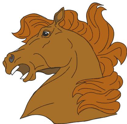 Horse Says Neigh Clipart.