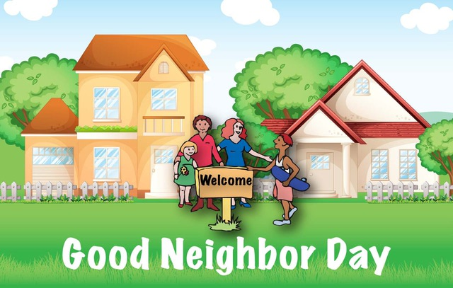 Good Neighbor Clipart.