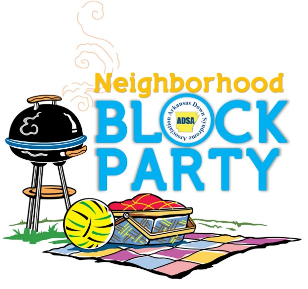 Block Party Cliparts.