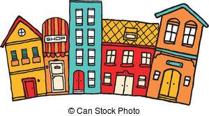 Neighborhood Illustrations and Clipart. 5,558 Neighborhood royalty.