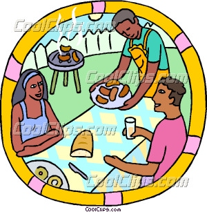 Gallery For > Neighborhood BBQ Clipart.