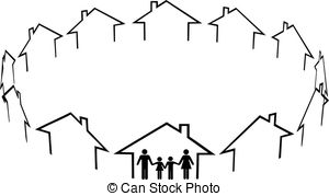Neighbors Illustrations and Clipart. 2,585 Neighbors royalty free.