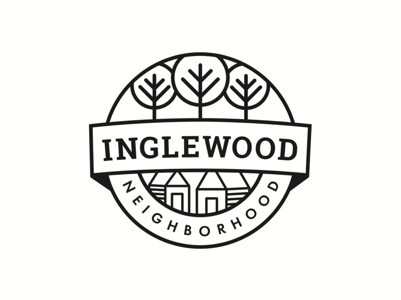 Neighborhood monoline logo.