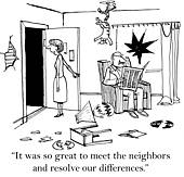 Neighbors Stock Illustrations. 571 neighbors clip art images and.