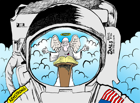 The Tunnel Wall: Well done, Neil Armstrong.