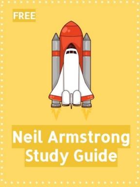 Neil Armstrong Cartoon Clipart.