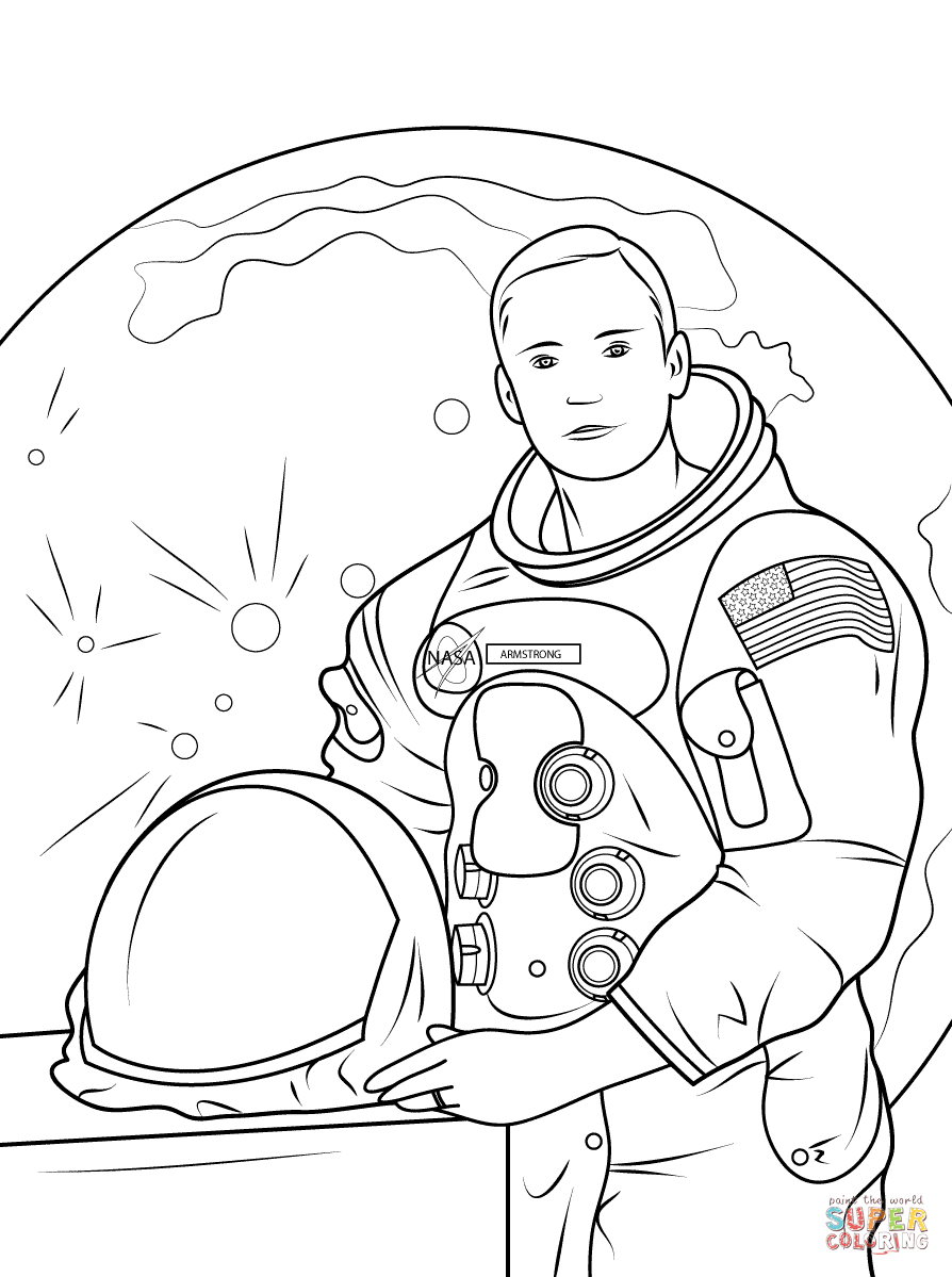 Neil Armstrong Cartoon Clipart 20 Free Cliparts Download