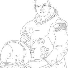 Neil armstrong coloring pages.