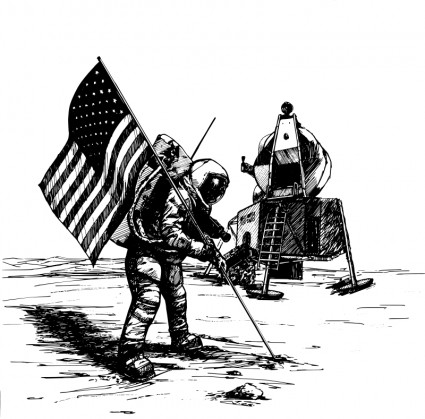 Neil Armstrong Clip Art Download.