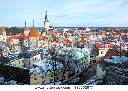 Capital Of Estonia Stock Photos, Royalty.
