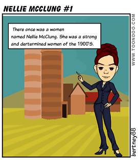 Nellie McClung #1 by bertney88.