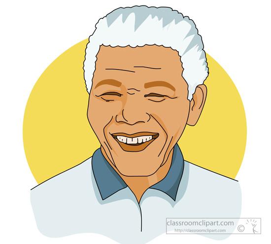 Nelson Mandela Clipart.