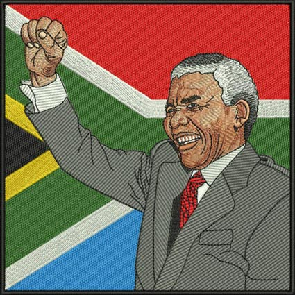 Nelson Mandela (5x5).