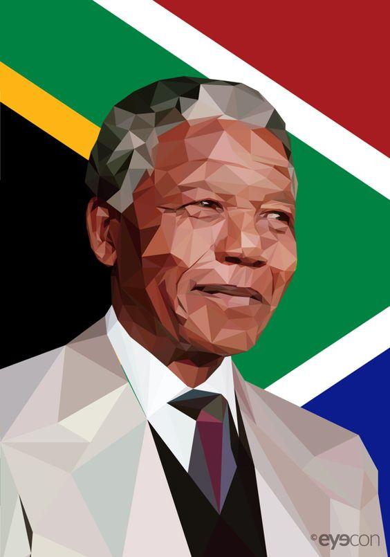 Tribute to Great Man Nelson Mandela.