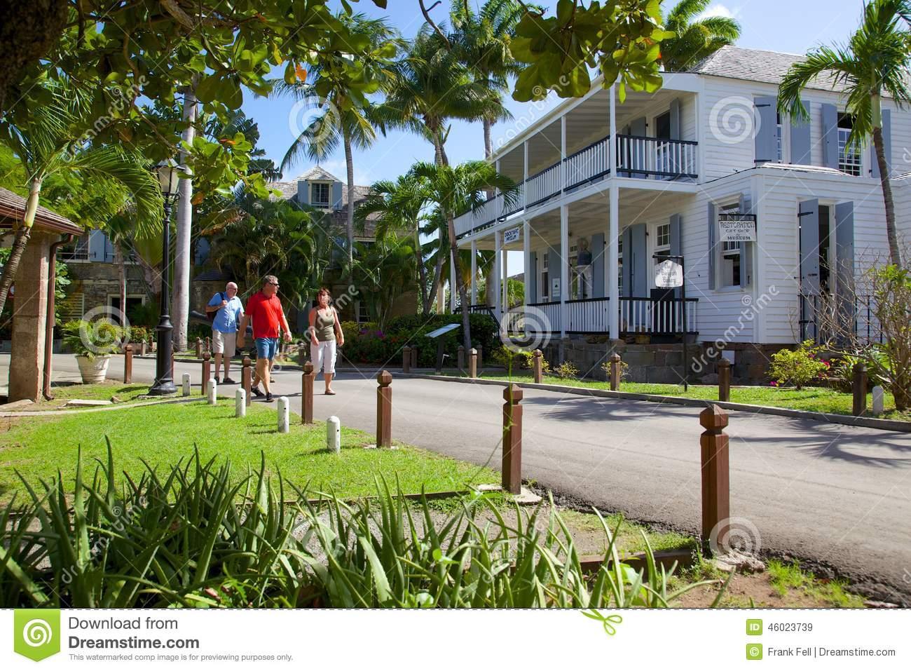 West Indies, Caribbean, Antigua, Nelson's Dockyard, Admiral's.