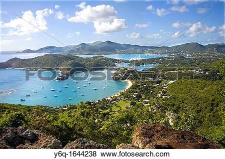 Pictures of View of English Harbour and Nelsons Dockyard and.