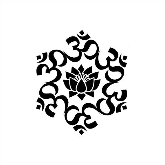 White Lotus Flower Clip Art.