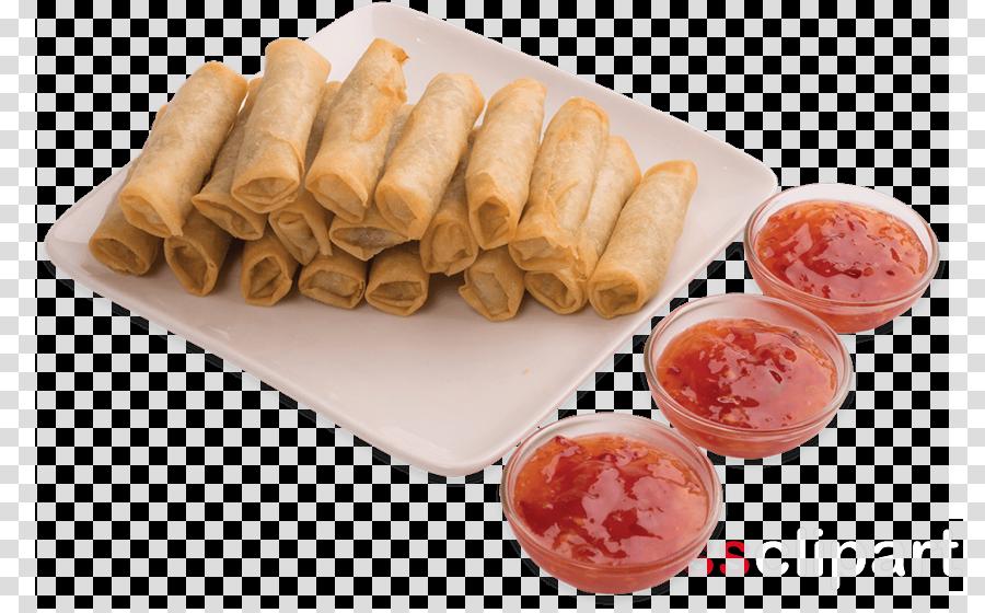 food nem rán spring roll cuisine dish clipart.