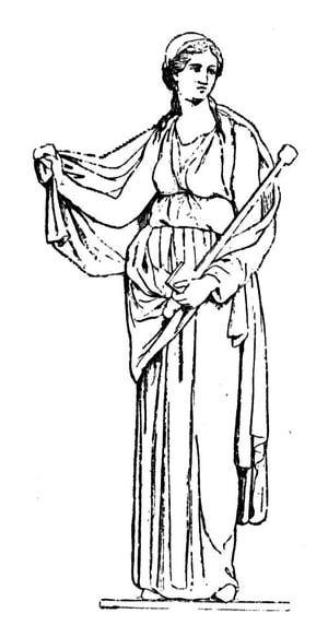 Clipart images of greek goddess nemesis.