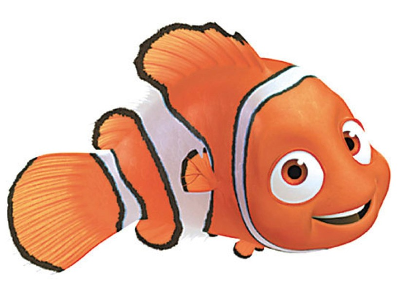 688 Finding Nemo free clipart.