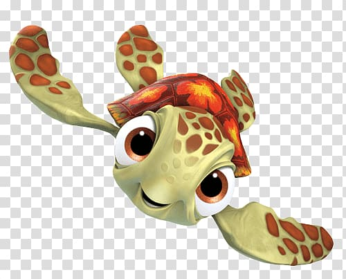 Turtle illustration, Squirt Finding Nemo transparent.