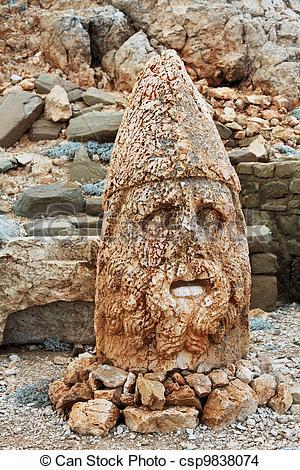 Stock Photo of Ruins Nemrut.