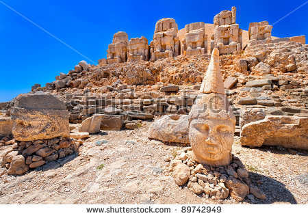 Nemrut Dagi Stock Photos, Royalty.