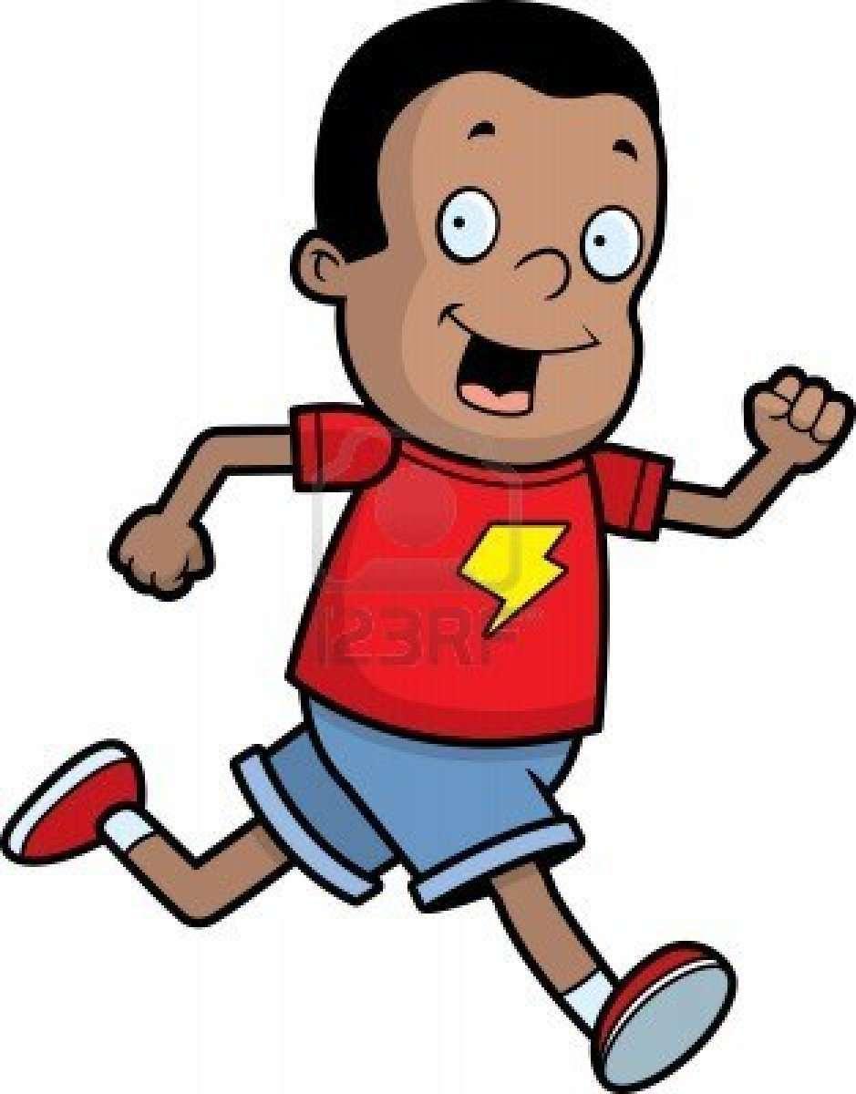 Boy Running Fast Clipart Clip art of Running Clipart #2078.