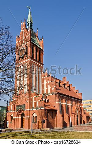 Stock Photos of Church of the Holy family (german Kirche Zur.