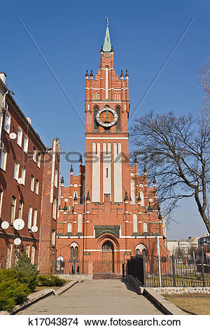 Stock Photo of Church of the Holy family, neo.