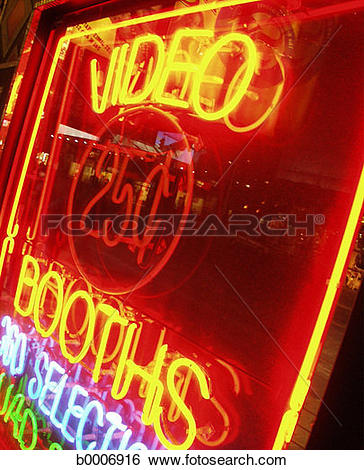 Stock Images of nightlife, advertising, new york city, neon.