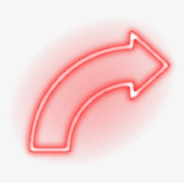 Red Neon Arrow PNG, Clipart, Arrow, Arrow Clipart, Arrow.