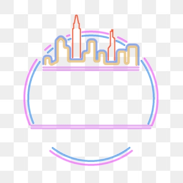 Neon Box PNG Images.