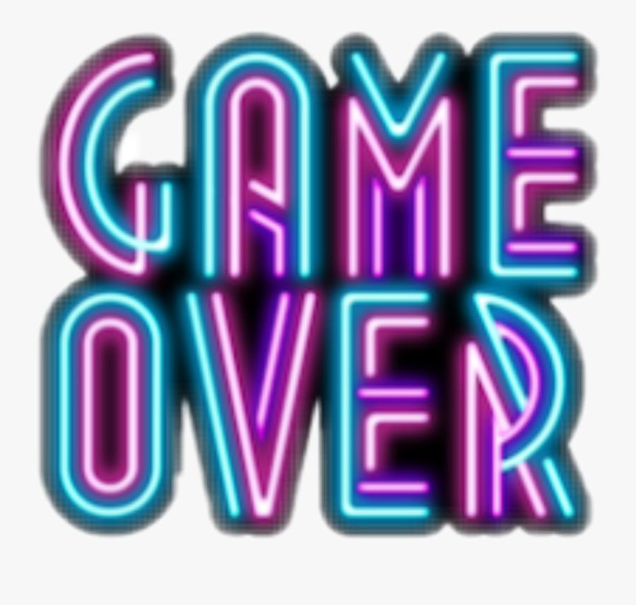 Transparent Gameover Png.