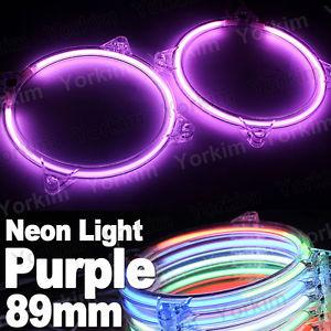 Purple Car CCFL Angel Eyes Ring Kit Headlight Decorative Led Neon.