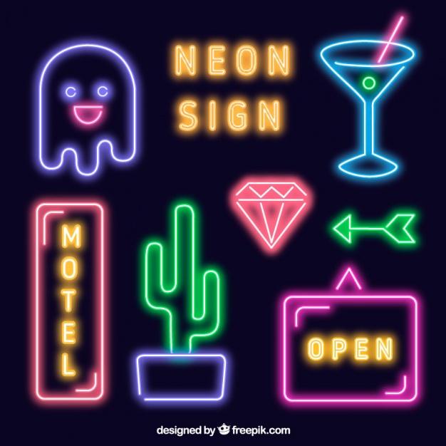 Neon Vectors, Photos and PSD files.