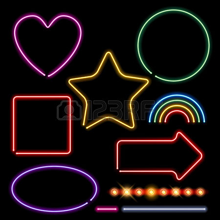 Heart Neon Light Stock Photos Images. Royalty Free Heart Neon.