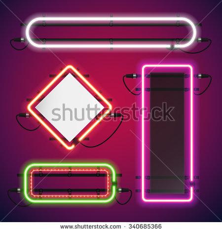 Neon Sign Stock Photos, Royalty.