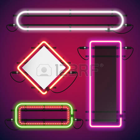 71,826 Neon Light Stock Vector Illustration And Royalty Free Neon.