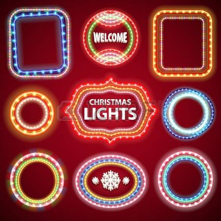 1,099 Casino Lights Stock Vector Illustration And Royalty Free.