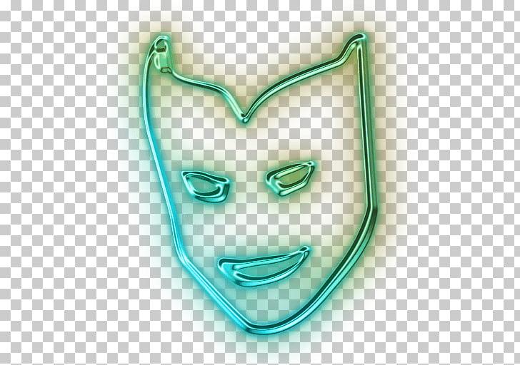 Neon Mask Snapchat Filter, green mask illustration PNG.
