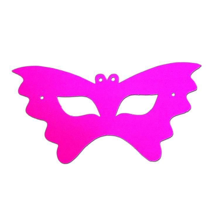 Buy Butterfly Childrens Cardboard Neon Mask.