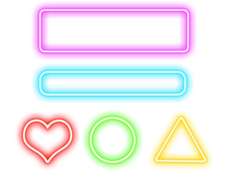 Neon Png (Isolated.